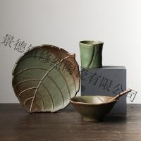 供应陶瓷餐具  订制陶瓷 日式粗陶   酒店餐具 高礼品餐