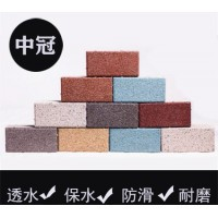 生态陶瓷透水砖|内蒙古呼伦贝尔陶瓷颗粒透水砖厂家6